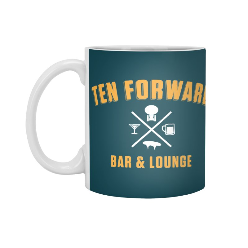 Ten Forward Bar & Lounge Accessories Standard Mug by Softwear