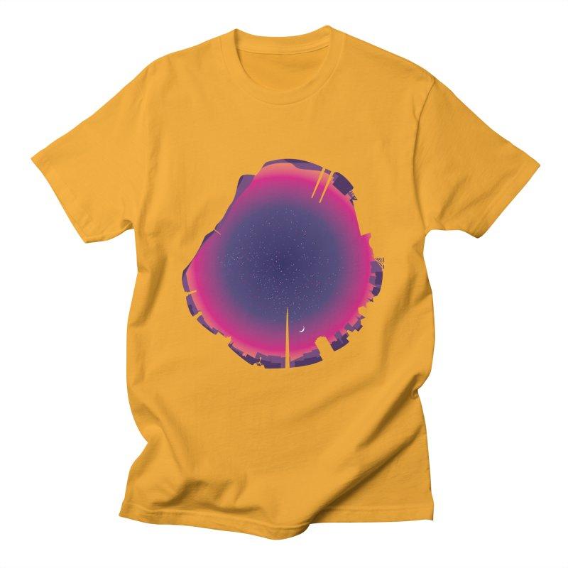 Starry Skied Dublin Men's T-Shirt by Softwear