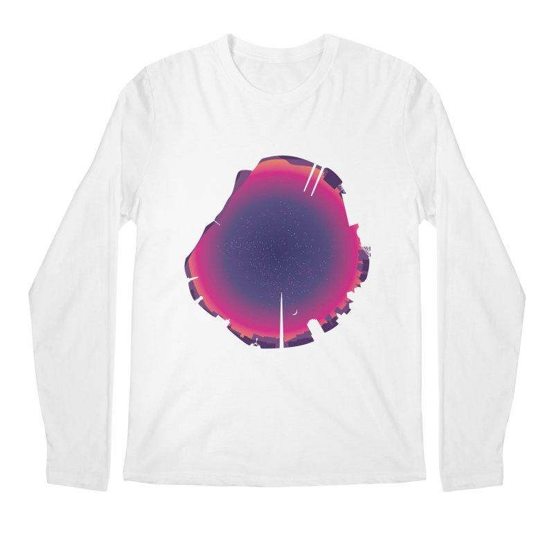 Starry Skied Dublin Men's Longsleeve T-Shirt by Softwear