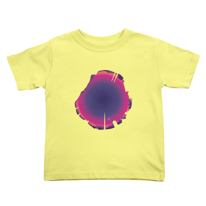 Starry Skied Dublin Kids Toddler T-Shirt by Softwear