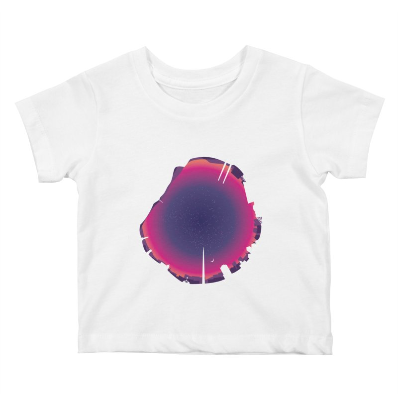 Starry Skied Dublin Kids Baby T-Shirt by Softwear