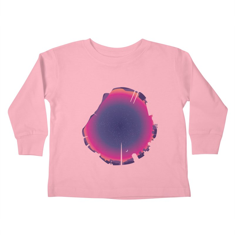 Starry Skied Dublin Kids Toddler Longsleeve T-Shirt by Softwear