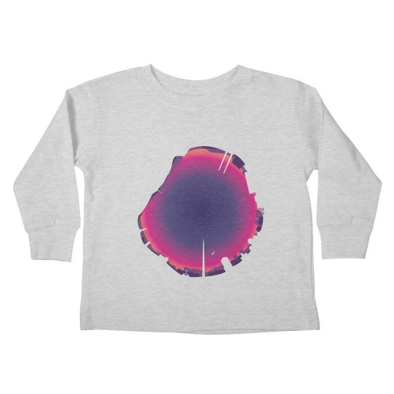 Starry Skied Dublin Kids Toddler Longsleeve T-Shirt by Softwear