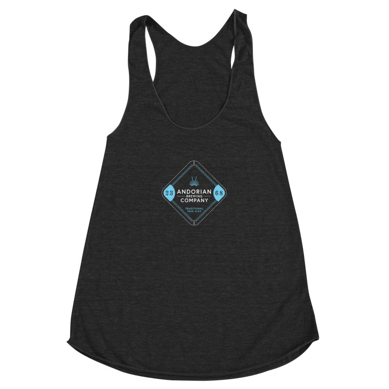 Superior Andorian Ales Women's Racerback Triblend Tank by Softwear