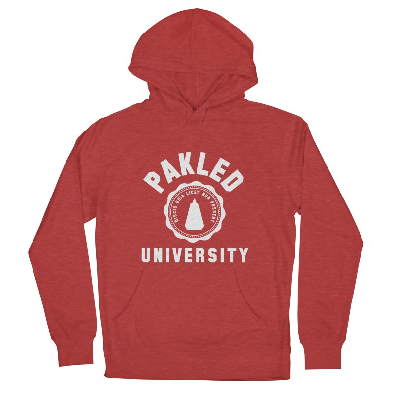 Pakled University - Learn, Because We Can't Women's French Terry Pullover Hoody by Softwear