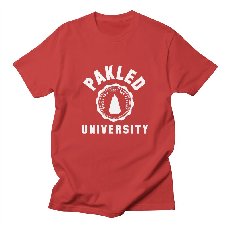 Pakled University - Learn, Because We Can't Women's Regular Unisex T-Shirt by Softwear