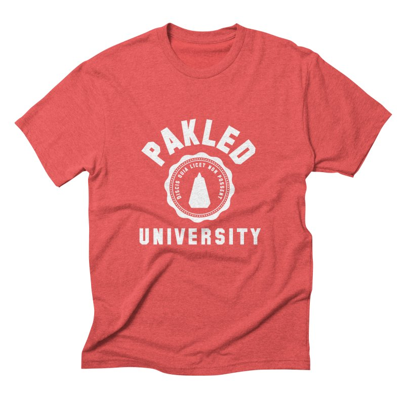 Pakled University - Learn, Because We Can't Men's Triblend T-Shirt by Softwear