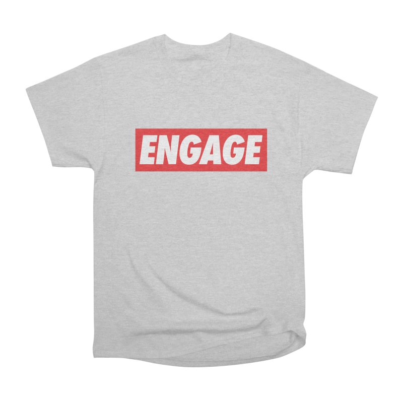 Engage. Men's Heavyweight T-Shirt by Softwear