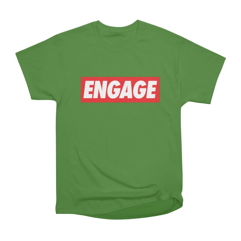 Engage. Women's Classic Unisex T-Shirt by Softwear