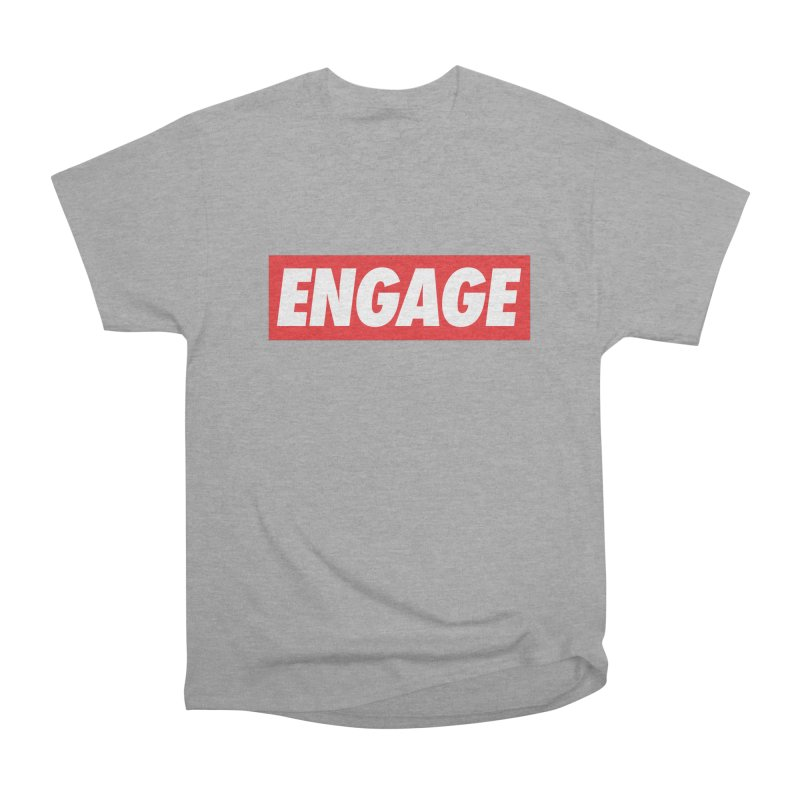 Engage. Women's Heavyweight Unisex T-Shirt by Softwear
