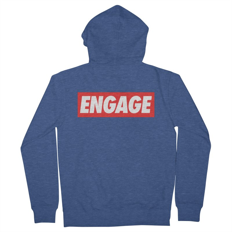 Engage. Women's French Terry Zip-Up Hoody by Softwear