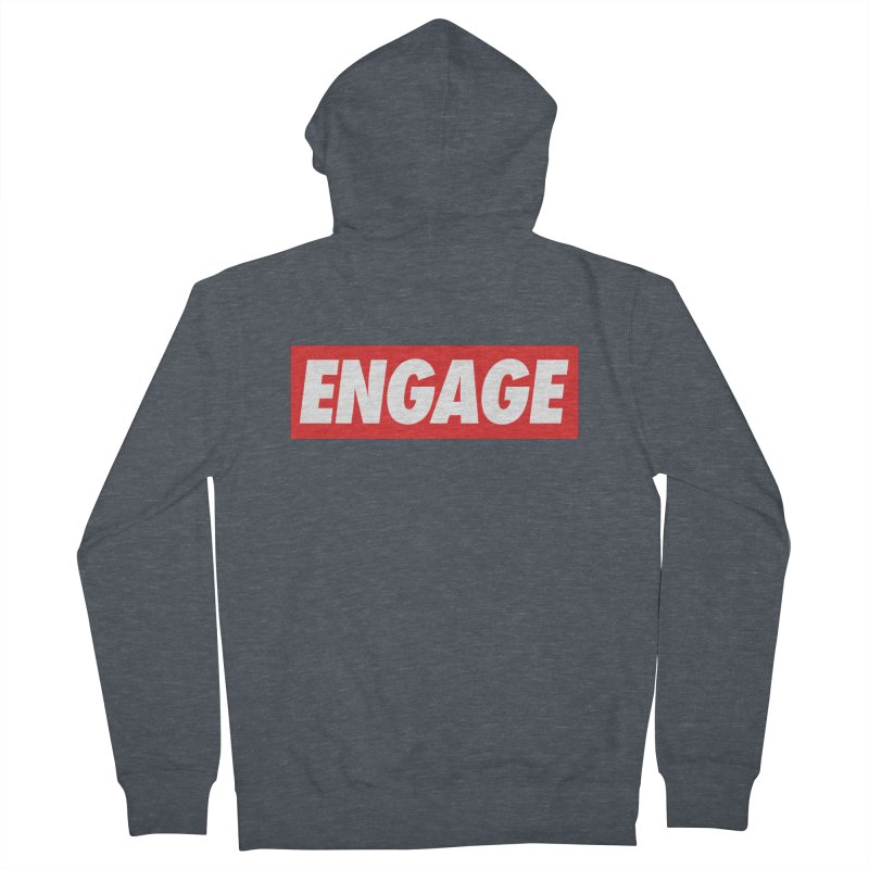 Engage. Women's Zip-Up Hoody by Softwear