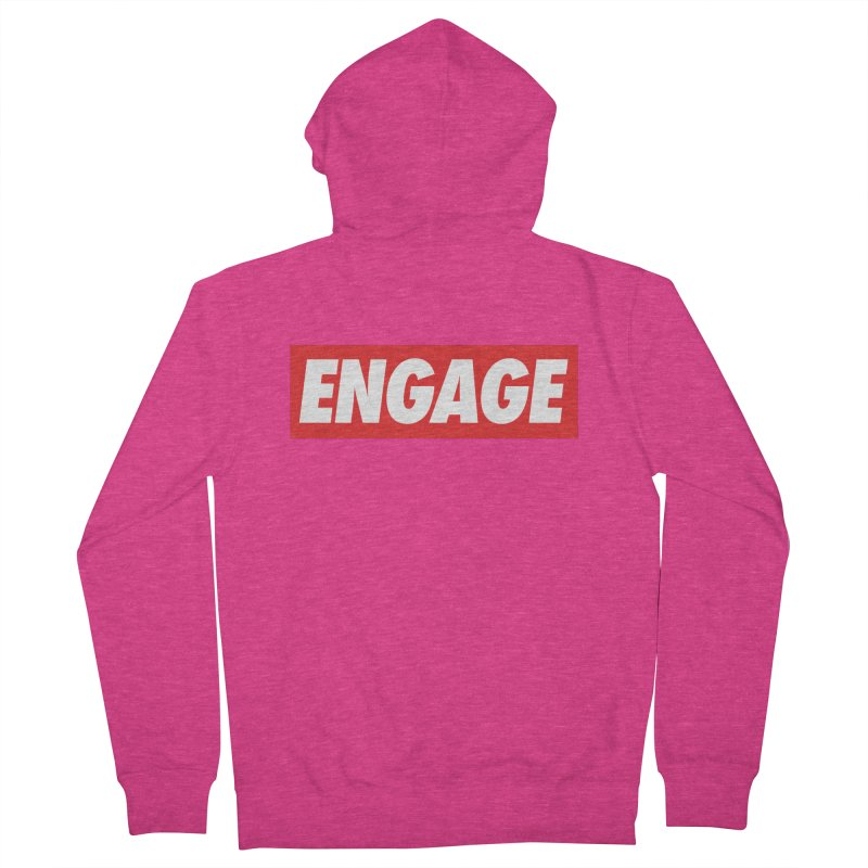 Engage. Women's Zip-Up Hoody by Softwear