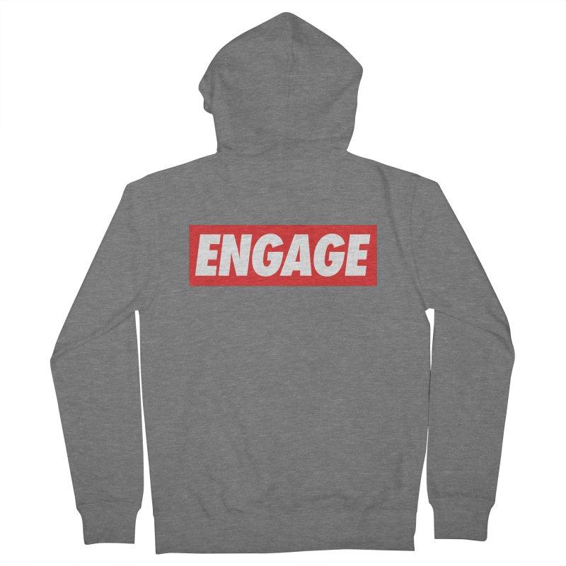Engage. Men's Zip-Up Hoody by Softwear
