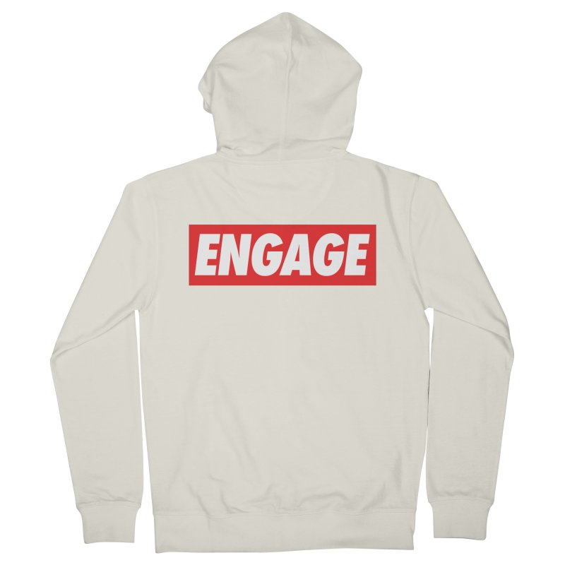 Engage. Men's French Terry Zip-Up Hoody by Softwear