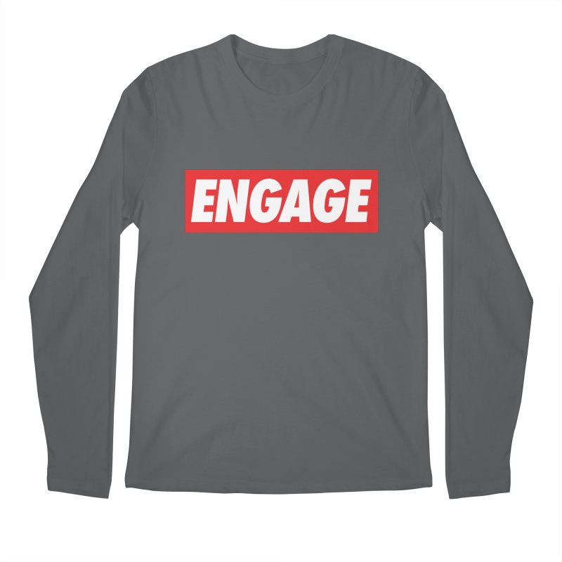 Engage. Men's Longsleeve T-Shirt by Softwear