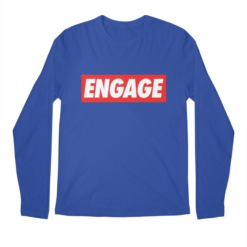 Engage. Men's Longsleeve T-Shirt by Softwear