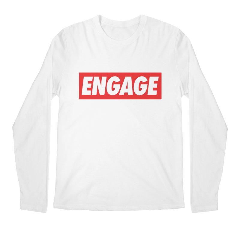 Engage. Men's Regular Longsleeve T-Shirt by Softwear