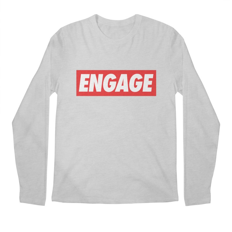Engage. Men's Regular Longsleeve T-Shirt by Softwear