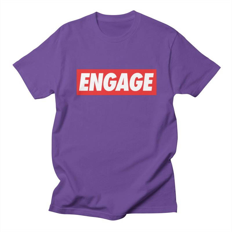 Engage. Women's Regular Unisex T-Shirt by Softwear