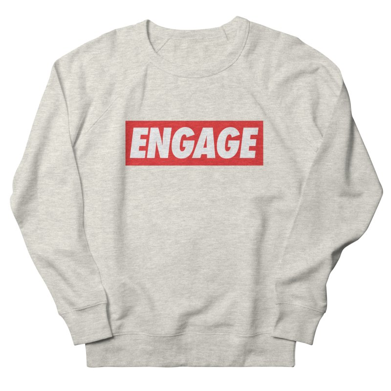 Engage. Men's French Terry Sweatshirt by Softwear