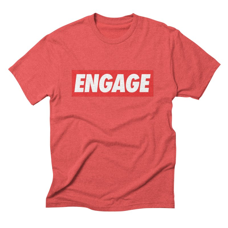 Engage. Men's Triblend T-Shirt by Softwear