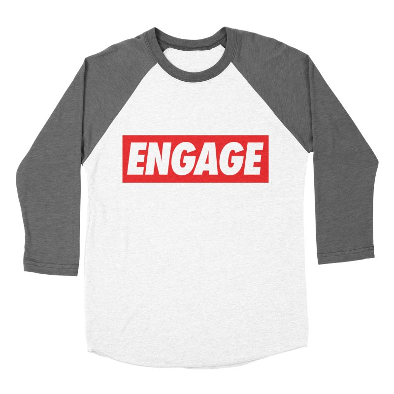 Engage. Women's Baseball Triblend Longsleeve T-Shirt by Softwear