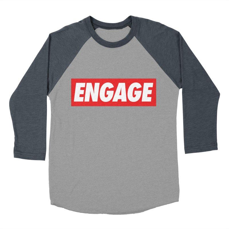 Engage. Women's Baseball Triblend Longsleeve T-Shirt by Softwear