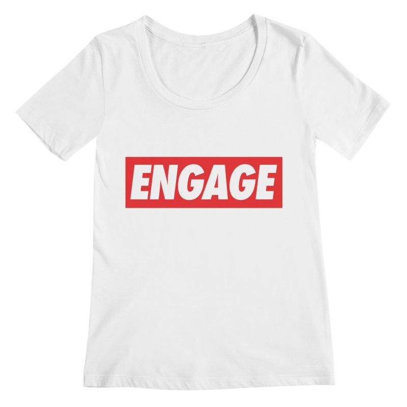 Engage. Women's Regular Scoop Neck by Softwear