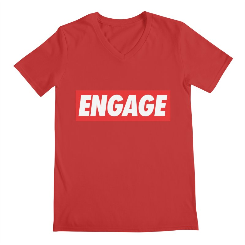 Engage. Men's V-Neck by Softwear