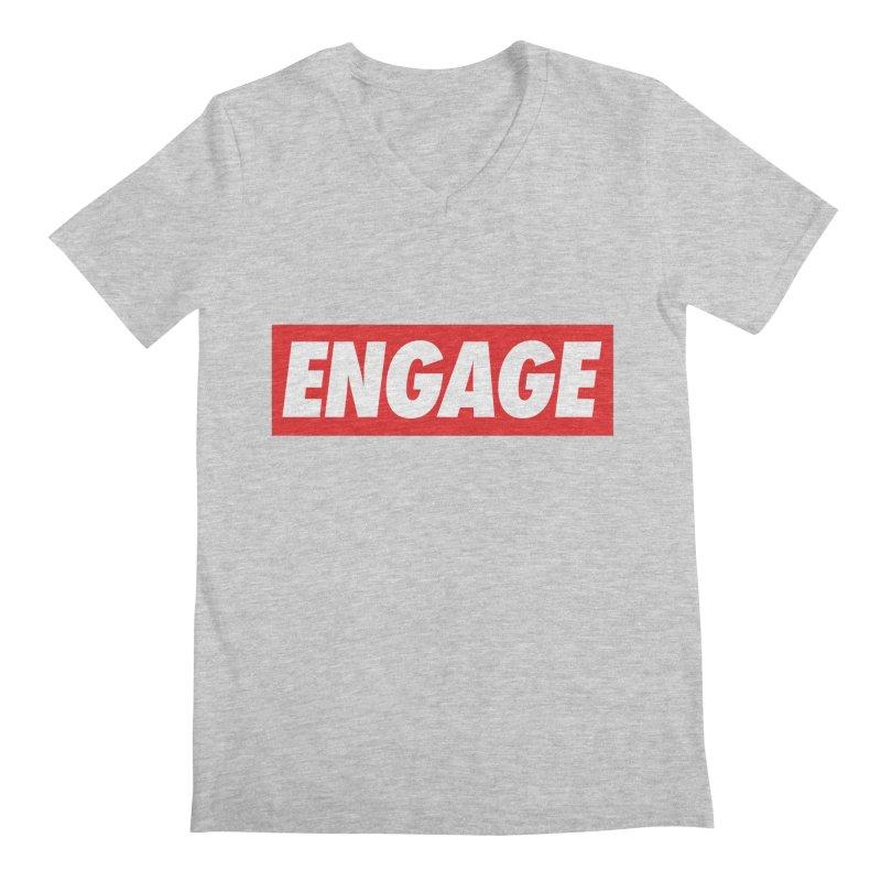 Engage. Men's Regular V-Neck by Softwear
