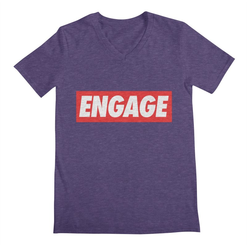 Engage. Men's Regular V-Neck by Softwear