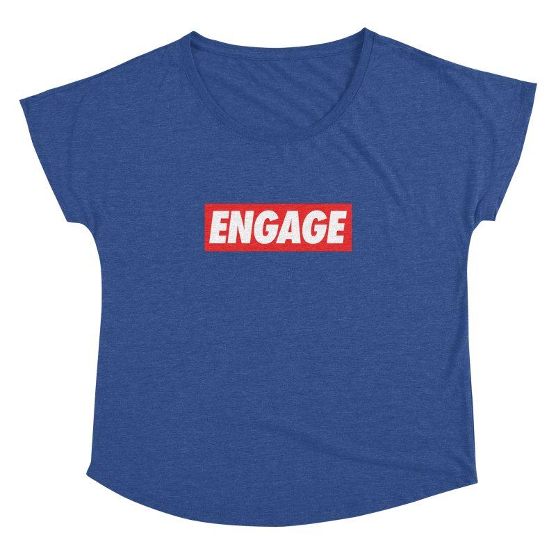 Engage. Women's Dolman Scoop Neck by Softwear