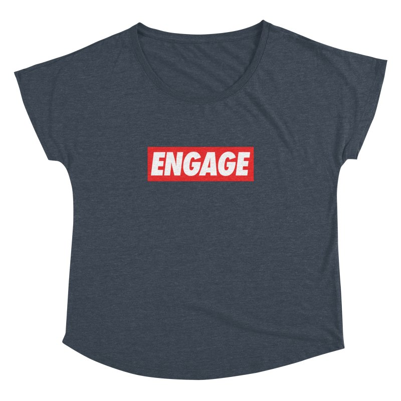 Engage. Women's Dolman Scoop Neck by Softwear