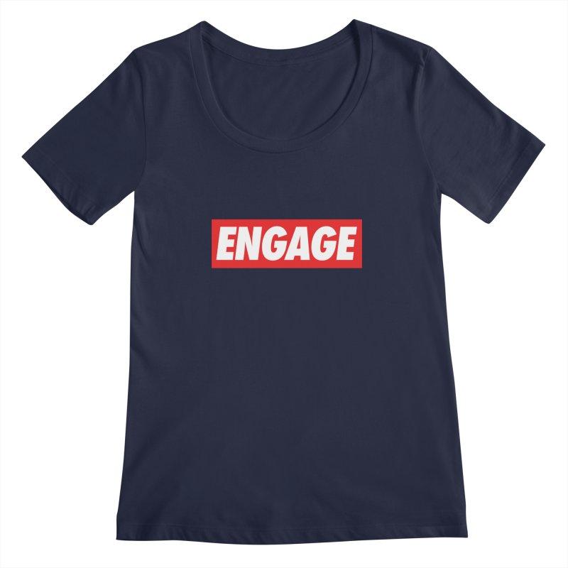 Engage. Women's Scoopneck by Softwear