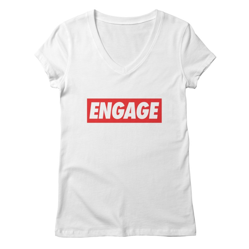 Engage. Women's Regular V-Neck by Softwear