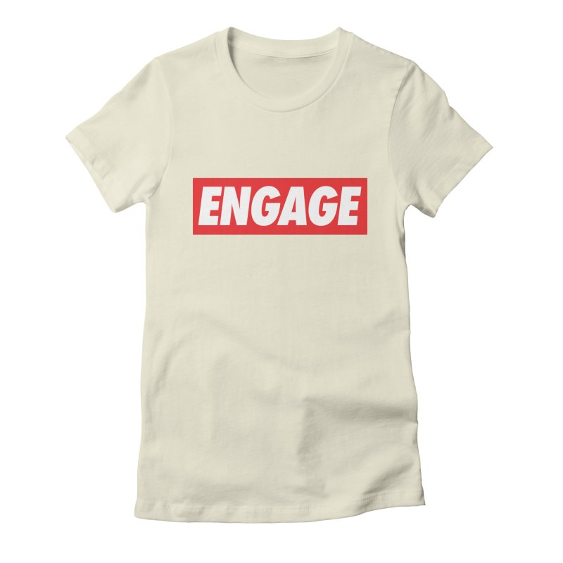 Engage. Women's Fitted T-Shirt by Softwear