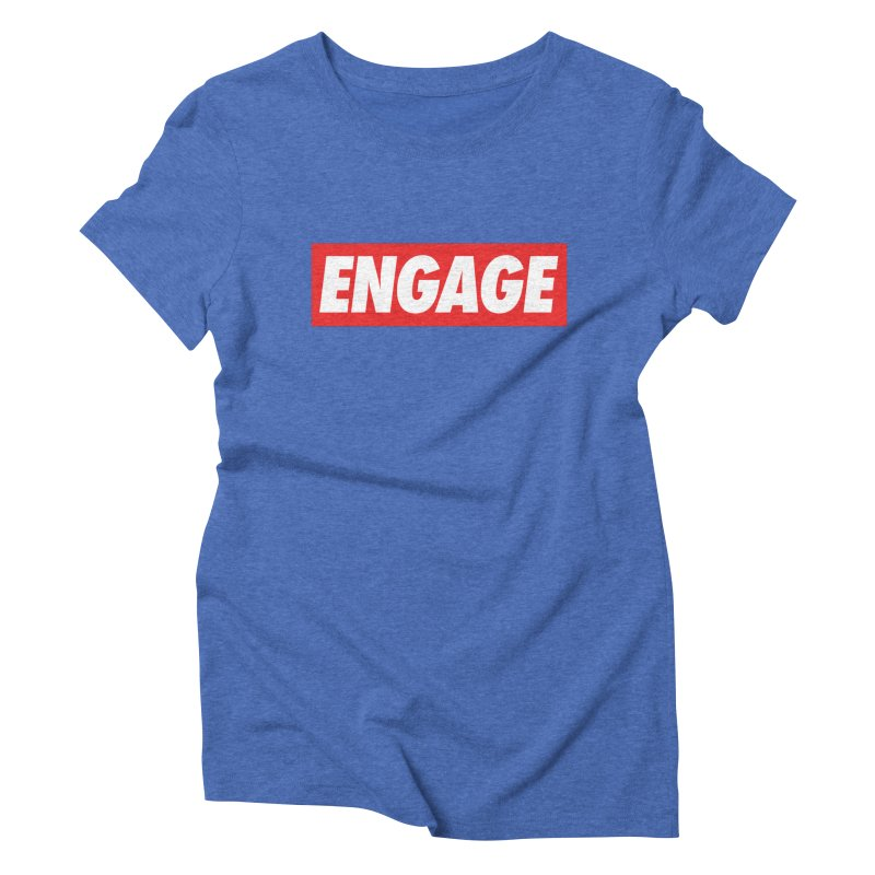 Engage. Women's Triblend T-Shirt by Softwear