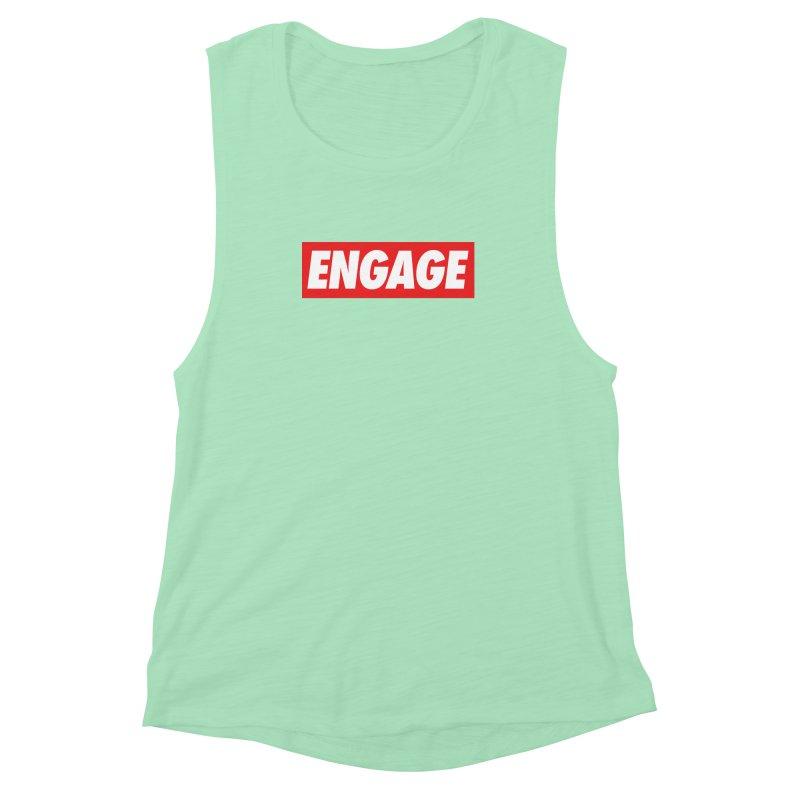 Engage. Women's Muscle Tank by Softwear