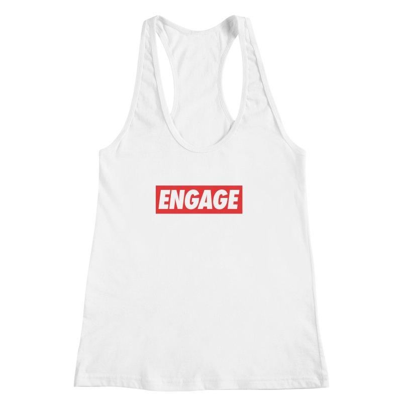Engage. Women's Racerback Tank by Softwear