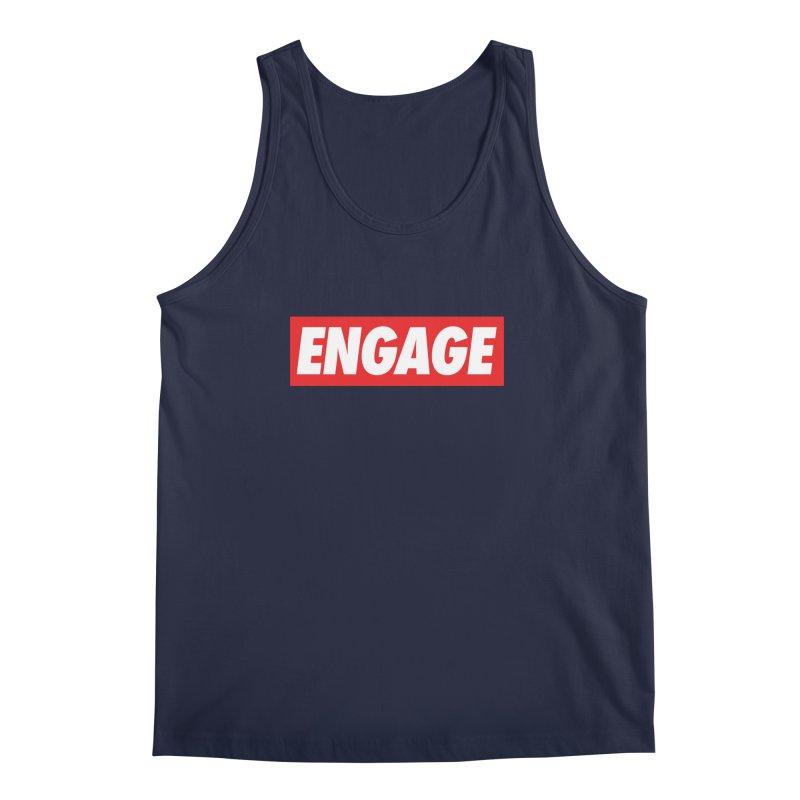 Engage. Men's Regular Tank by Softwear