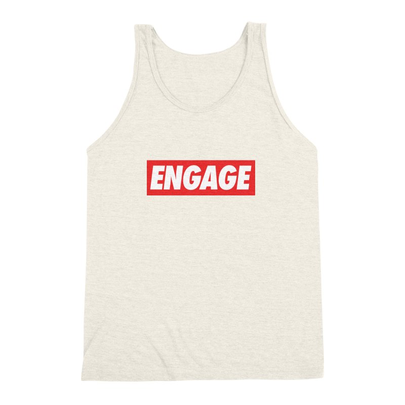 Engage. Men's Triblend Tank by Softwear
