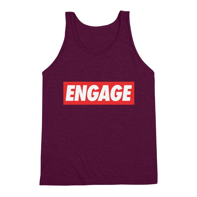 Engage. Men's Triblend Tank by Softwear