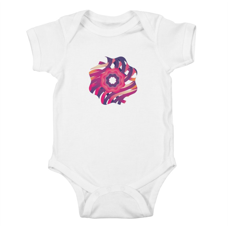 Infinite Flowers Kids Baby Bodysuit by Softwear