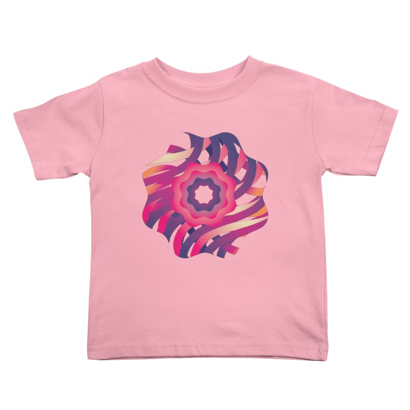 Infinite Flowers Kids Toddler T-Shirt by Softwear