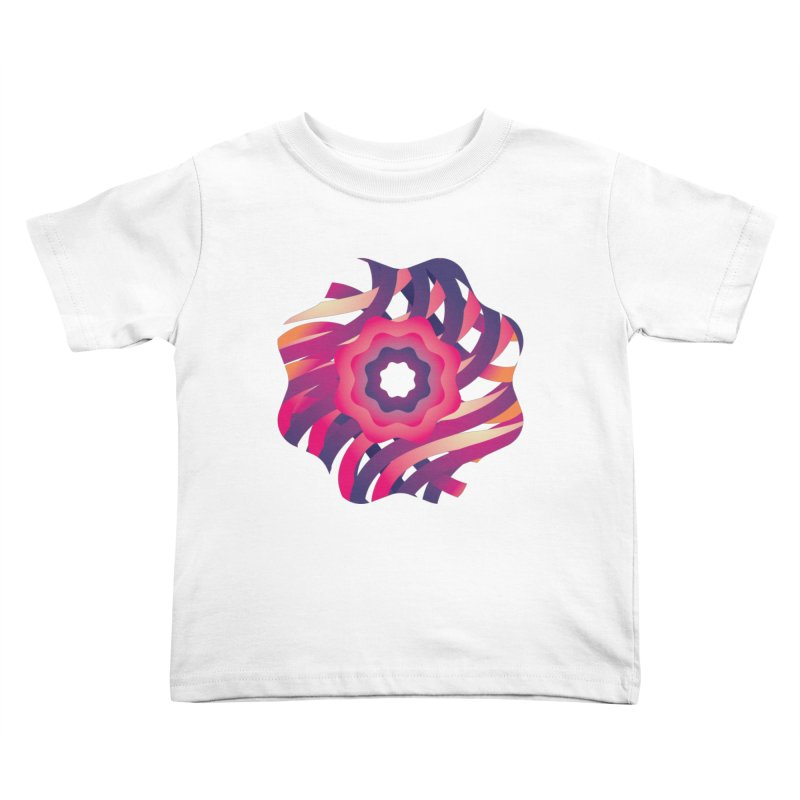 Infinite Flowers Kids Toddler T-Shirt by Softwear