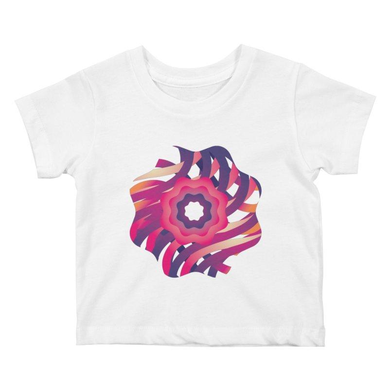 Infinite Flowers Kids Baby T-Shirt by Softwear