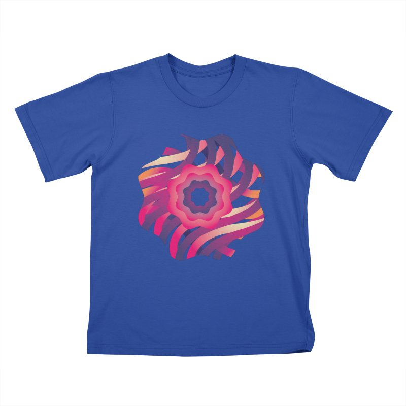 Infinite Flowers Kids T-Shirt by Softwear