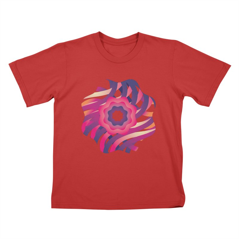 Infinite Flowers Kids T-Shirt by Softwear