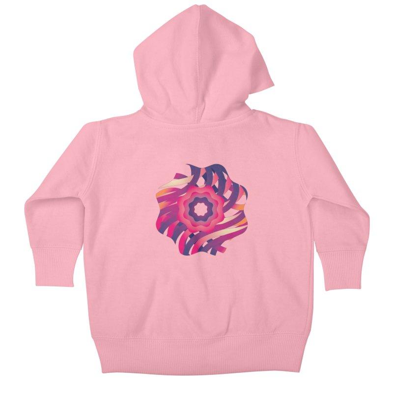 Infinite Flowers Kids Baby Zip-Up Hoody by Softwear